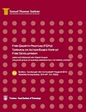 Firm Growth Profiles (FGPs): Towards an Action-Based View of Firm Development STE-WP-24
