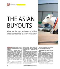 THE ASIAN BUYOUT