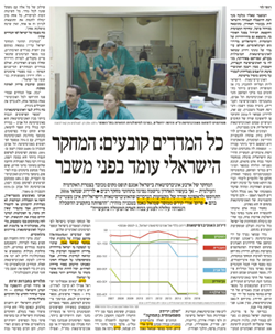 All indications determine: Israeli research is facing a crisis