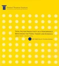Total Factor Productivity as a Performance Benchmark for Firms: Theory and Evidence, SNI R&D Policy Papers Series