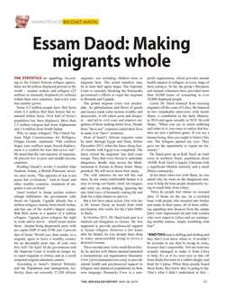 Essam Daod: Making migrants whole
