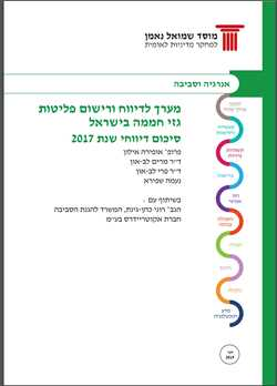 Gas Emissions Reporting and Registration System in Israel: Summary of Reports for 2017