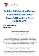 "Building an Enhancing Mexico's Entrepreneurial Culture: Powerful Narratives as the ""Missing link"""