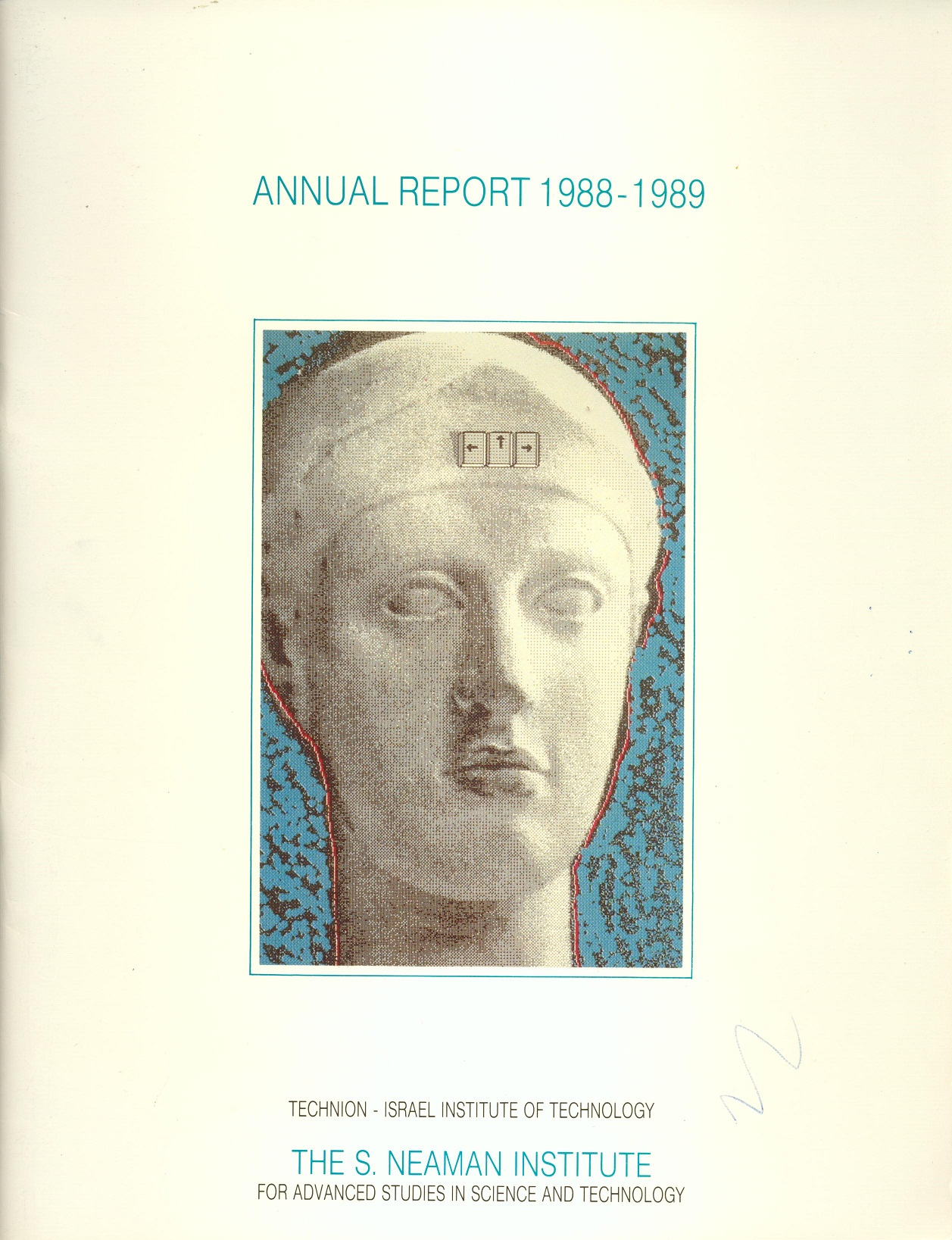Annual Report 1988-1989 Samuel Neaman Institute