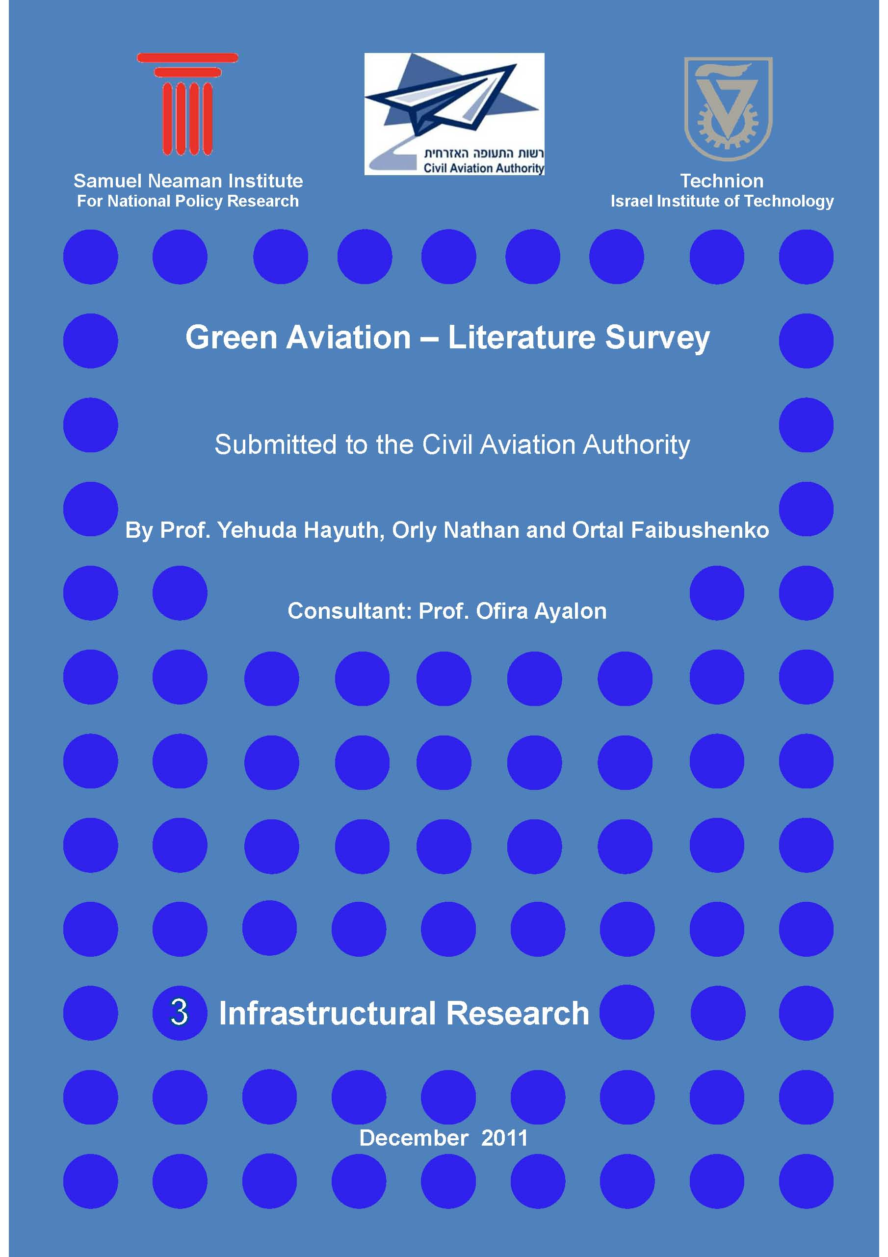 Green Aviation - Literature Survey