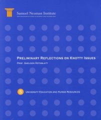 Preliminary Reflections on Knotty Issues, University Education and Human Resources