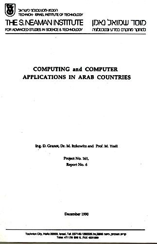 Computing and Computer Applications in Arab Countries, Report No. 6, Project No. 161