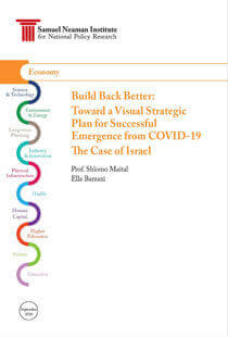 Build Back Better Toward a Visual Strategic Plan for Successful Emergence from COVID 19 The Case of Israel Part I